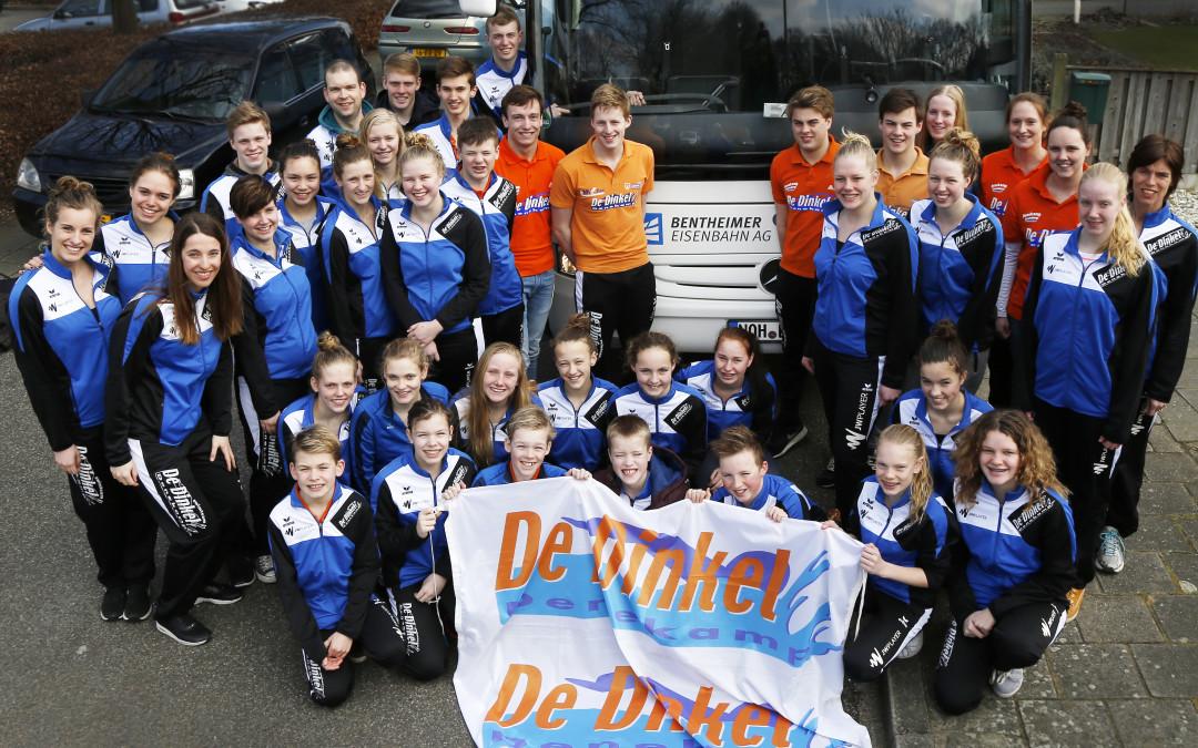 Tweede plaats voor De Dinkel in 4e ronde Hoofdklasse Nationale Zwemcompetitie