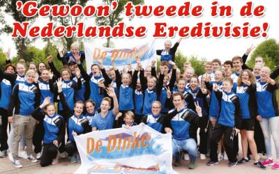 De Dinkel Denekamp TWEEDE in Eredivisie Zwemmen