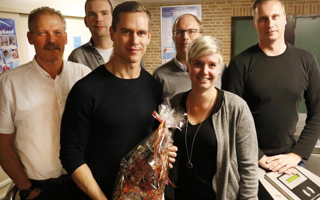 Oud Dinkelzwemmer en -Olympiër Johan Kenkhuis in the house!