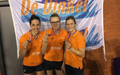 NK-Swimcup Eindhoven levert 3 medailles op !