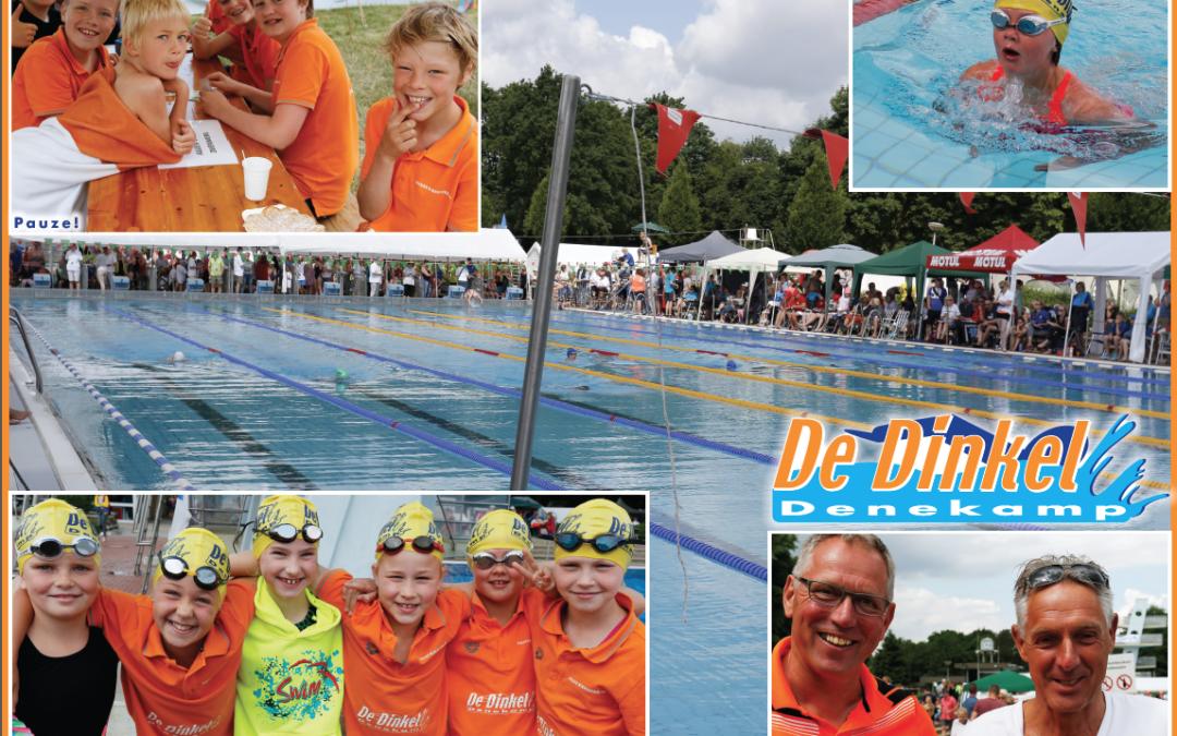 Dinkel geniet op Pfingstschwimmfest Nordhorn