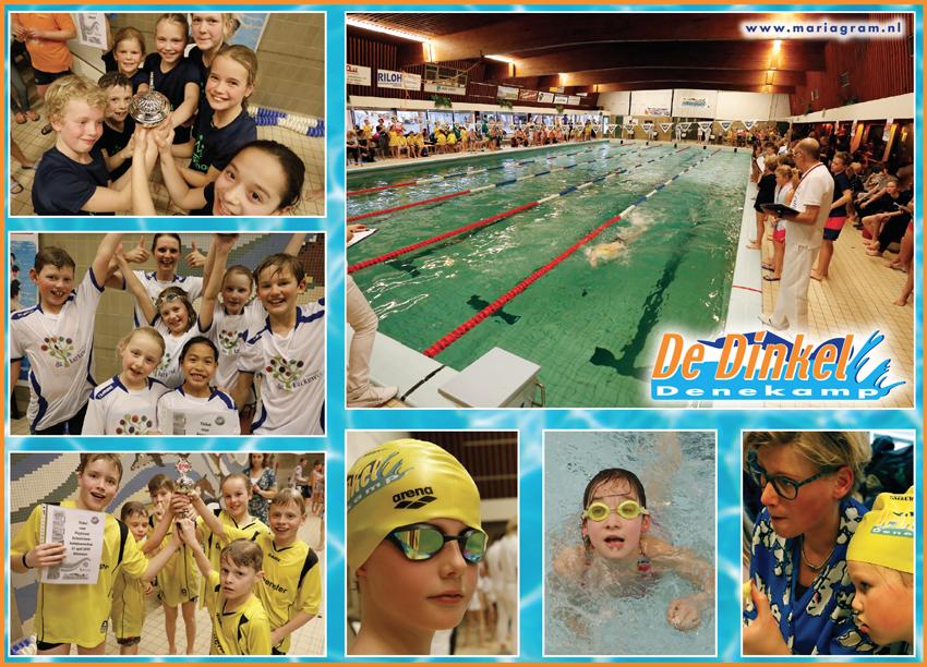 Kinschool, Kerkewei en Zevenster schoolzwemwinnaars van Dinkelland