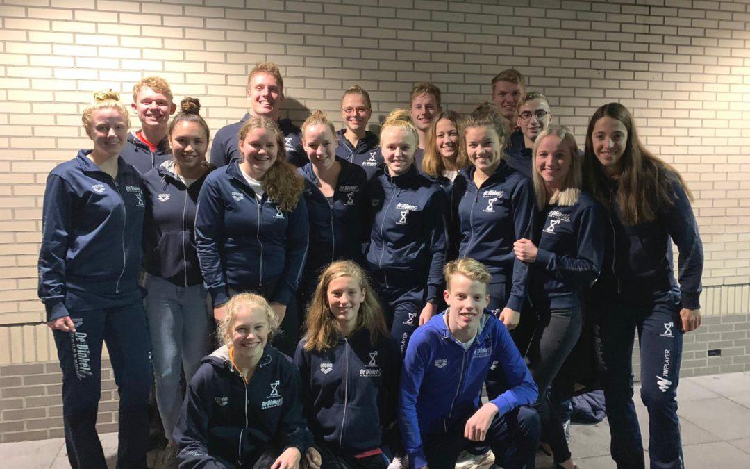 Selectie De Dinkel zwemt bij Martinez Cup in Amsterdam