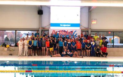 Eerste Masterswedstrijd in nieuwe bad groot succes