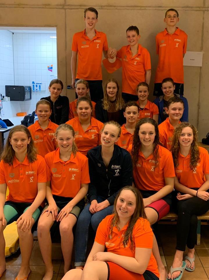Jeugd De Dinkel zet beste beentje voor bij Regionale Estafettekampioenschappen