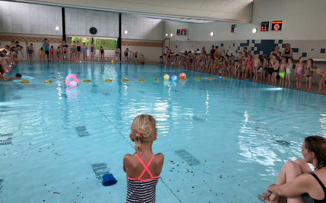 Jeugd zwemvierdaagse kan vrijdag 16 oktober nog zwemmen!