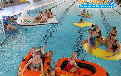 We mogen weer binnen zwemmen!